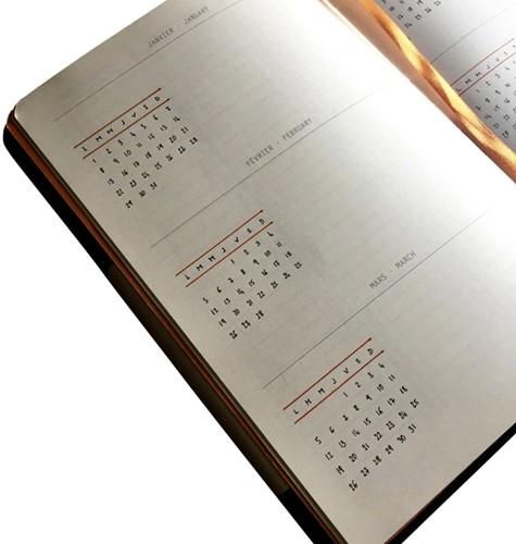 BULLETJOURNAL RHODIA A5 120VEL 90GR DOTS CHOCOLADE 1 STUK-3