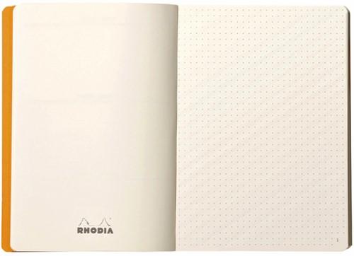 BULLETJOURNAL RHODIA A5 120VEL 90GR DOTS CHOCOLADE 1 STUK-1