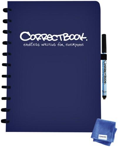 CORRECTBOOK A4 GELINIEERD MARINE BLAUW 1 Stuk