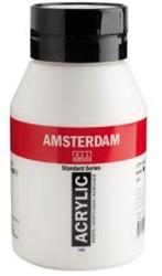 AMSTERDAM ACRYL 1000 ML 223 NAPELSGEEL DONKER