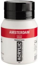AMSTERDAM ACRYL 500 ML 105 TITAANWIT