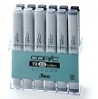 Copic Marker Set Cool Grey a 12 kleuren