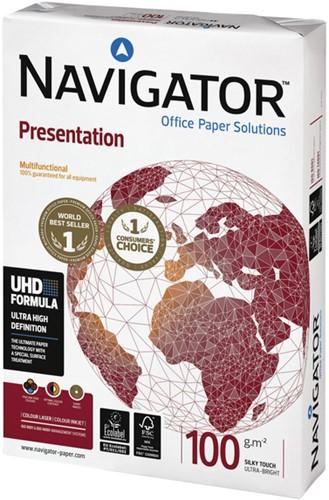 KOPIEERPAPIER NAVIGATOR PRESENTATION A4 100GR WIT 500 Vel