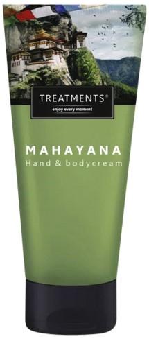 HAND/BODYCREME TREATMENTS MAHAYANA ZIJDEZCHT 200ML 1 Stuk