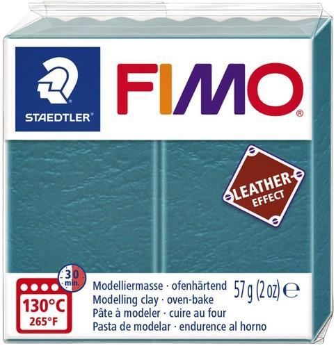 KLEI FIMO STAEDTLER LEATHER EFFECT 57GR LAGUNE 1 Stuk