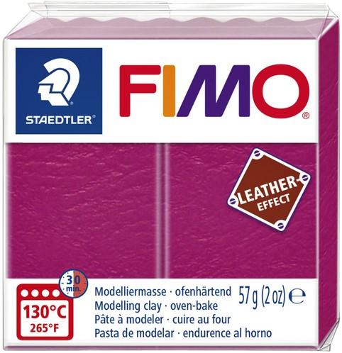 KLEI FIMO STAEDTLER LEATHER EFFECT 57GR BES 1 Stuk