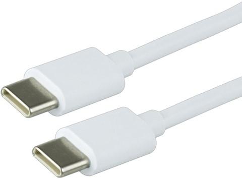 KABEL GREEN MOUSE USB C-C 2.0 1METER WIT 1 Stuk