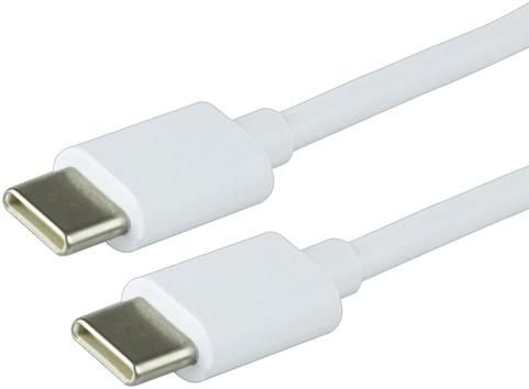 KABEL GREEN MOUSE USB C-C 2.0 2METER WIT 1 Stuk