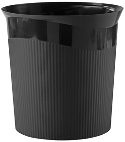Papierbak HAN Re-LOOP 13 liter rond zwart 1 Stuk