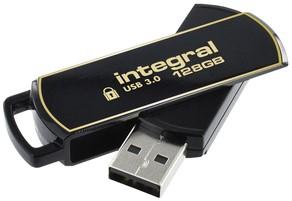 USB-stick Integral 3.0 Secure 360 128GB zwart 1 Stuk