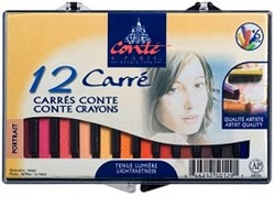 CONTE CARRE DOOSJE PORTRET 12 STUKS