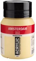 AMSTERDAM ACRYL 500 ML 223 NAPELSGEEL DONKER