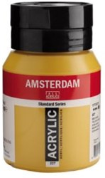 AMSTERDAM ACRYL 500 ML 227 GELE OKER