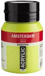 AMSTERDAM ACRYL 500 ML 243 GROENGEEL