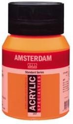 AMSTERDAM ACRYL 500 ML 257 REFLEX ORANJE