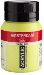 AMSTERDAM ACRYL 500 ML 267 AZOGEEL CITROEN