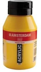 AMSTERDAM ACRYL 1000 ML 270 AZOGEEL DONKER