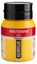 AMSTERDAM ACRYL 500 ML 270 AZOGEEL DONKER