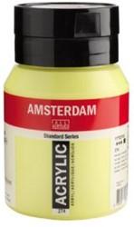 AMSTERDAM ACRYL 500 ML 274 NIKKELTITAANGEEL