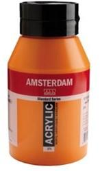 AMSTERDAM ACRYL 1000 ML 276 AZO ORANJE