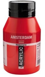 AMSTERDAM ACRYL 1000 ML 315 PYRROLE RED