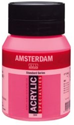 AMSTERDAM ACRYL 500 ML 284 REFLEX ROSE
