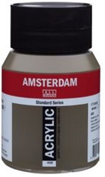 AMSTERDAM ACRYL 500 ML 408 RAUWE OMBER
