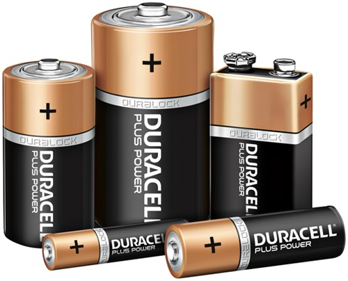 BATTERIJ DURACELL AAA PLUS POWER PK.8-3