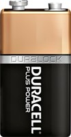 BATTERIJ DURACELL 9V PLUS POWER PK.1