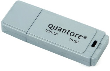 USB-STICK QUANTORE FD 16GB 3.0 ZILVER 1 Stuk