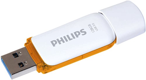USB-STICK PHILIPS SNOW KEY TYPE 128GB 3.0 BRUIN 1 STUK