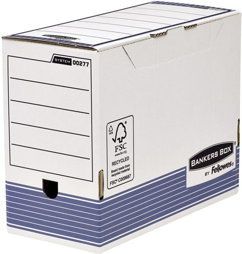 ARCHIEFDOOS BANKERS BOX A4 SYSTEM 150MM TRANSFER 1 Stuk