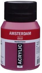 AMSTERDAM ACRYL 500 ML 567 PERMANENT ROOD VIOLET
