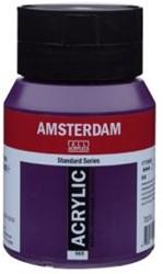 AMSTERDAM ACRYL 500 ML 568 PERMANENT BLAUW VIOLET