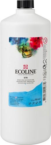 ECOLINE 990 ML 578 HEMELSBLAUW (CYAAN)