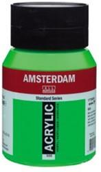 AMSTERDAM ACRYL 500 ML 605 BRILLIANT GROEN