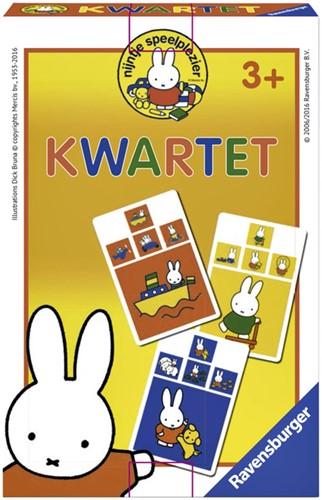 SPEL RAVENSBURGER NIJNTJE ONTDEKT DE WERELD KWARTET 1 STUK