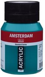 AMSTERDAM ACRYL 500 ML 675 PHTALO GROEN