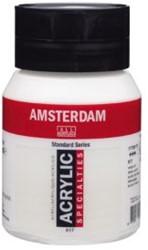 AMSTERDAM ACRYL 500 ML 817 PARELWIT