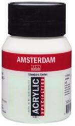 AMSTERDAM ACRYL 500 ML 822 PARELGROEN