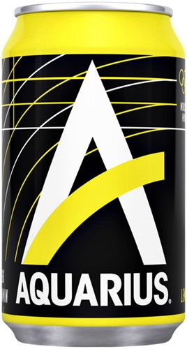FRISDRANK AQUARIUS LEMON BLIKJE 0.33L 33 CL