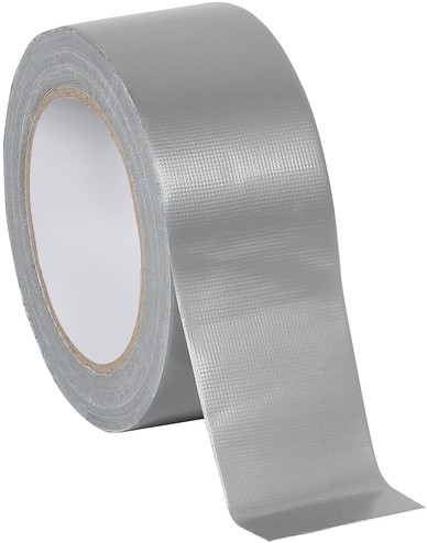 TAPE QUANTORE DUCT 48MM X 50M ZILVER 1 STUK