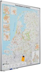 Landkaart Nederland Postcode