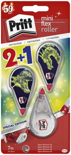 CORRECTIEROLLER PRITT MINI 4.2MM BTS19 2+1 GRATIS 2+1 STUK