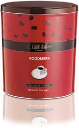 KOFFIE CAFE AMI ROODMERK SNELFILTER BLIK A 3.5 KG.