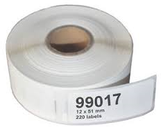 ALTERNATIEVE DYMO LABELS 99017