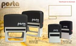 Stempel Posta P10 Rood volgens opgave