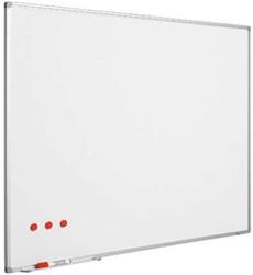 Whiteboard 90x120cm softline voor designrail