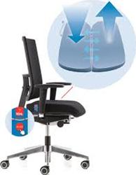 BUREAUSTOEL KÖHL ANTEO BASIC NETWORK MET AIRSEAT