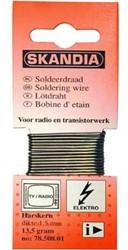SOLDEERDRAAD SKANDIA 1.5MM 13.5 GRAM 70/30 HARSKERN